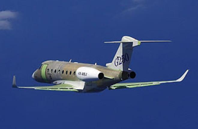 Первый самолет Gulfstream G280