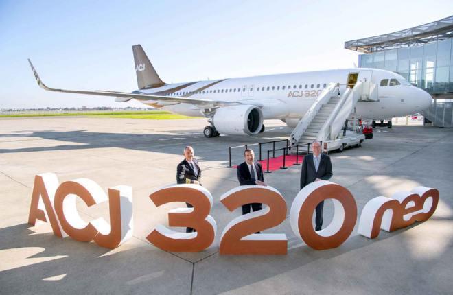 Первый поставленный ACJ320neo