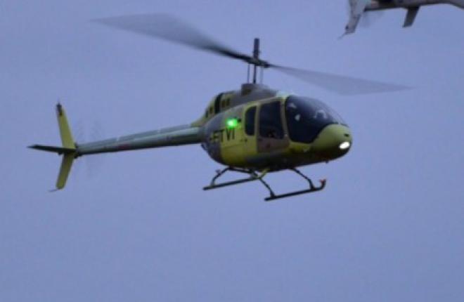 Состоялся первый полет вертолета Bell-505