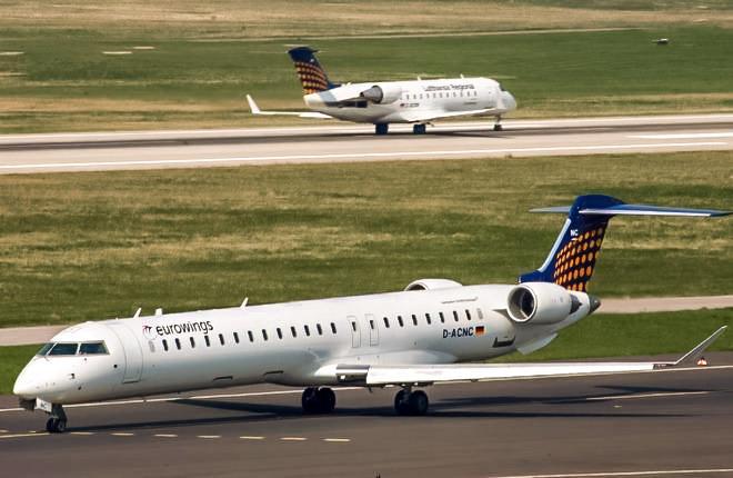 самолеты CRJ