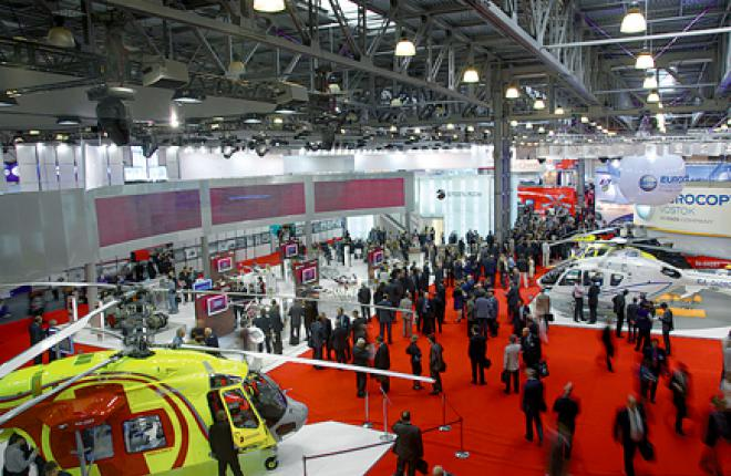 HeliRussia attracts all major helicopter makers