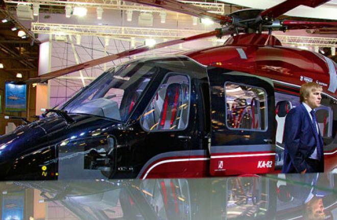На предыдущих выставках демонстрировался только полноразмерный макет Ка-62