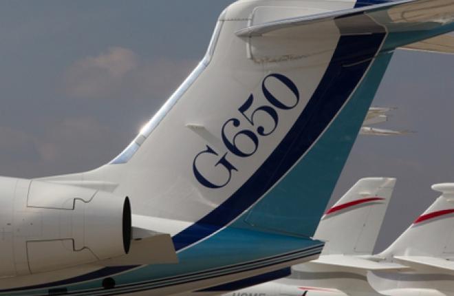 """Компания """"Московское небо"""" получила бизнесджет G650"""