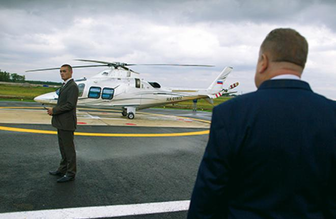 Helicopter business charters are more popular in the winter season