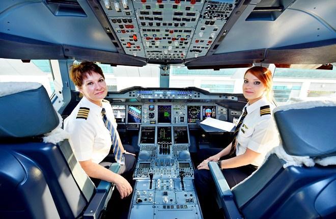 Женщины-пилоты авиакомпании Emirates
