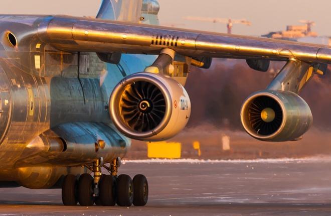 ПД-14 в составе ЛЛ Ил-76