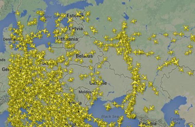 Авиакомпании отказались летать над территорией Украины