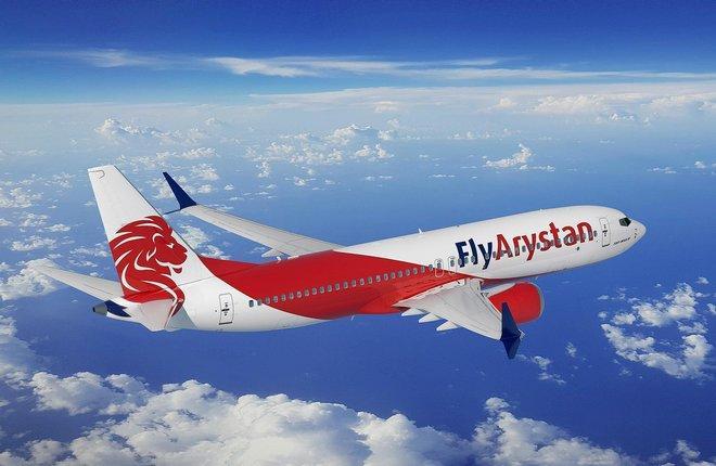 B-737MAX в раскраске авиакомпании Fly Arystana