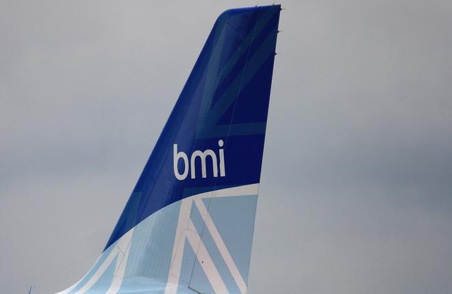 BMI Regional выполняла полеты под брендом flybmi