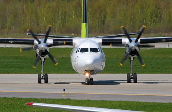 Самолеты Fokker 50 эксплуатируются в латвийской авиакомпании airBaltic