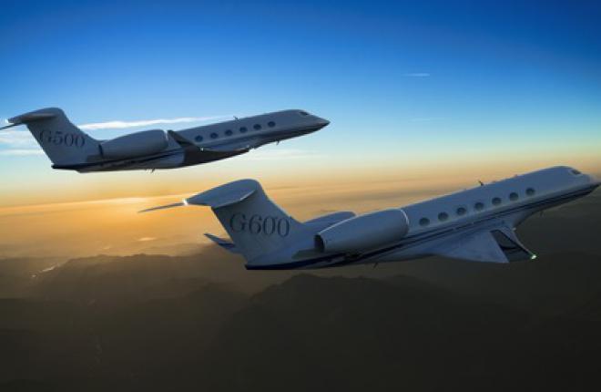 Gulfstream представил новые бизнес-джеты G500 и G600