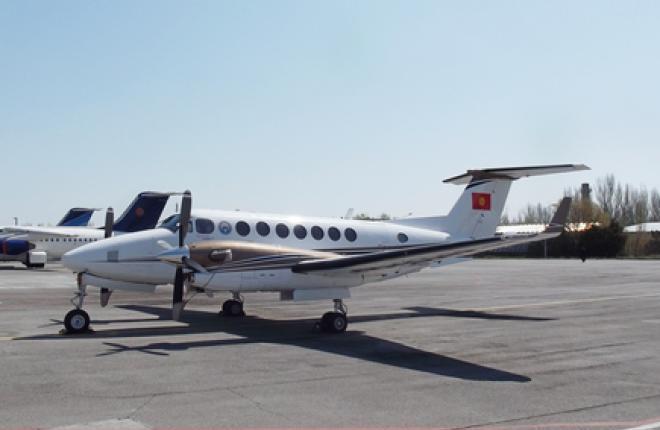 Авиакомпания Air Kyrgyzstan выставила на продажу самолет Beechcraft King Air 350