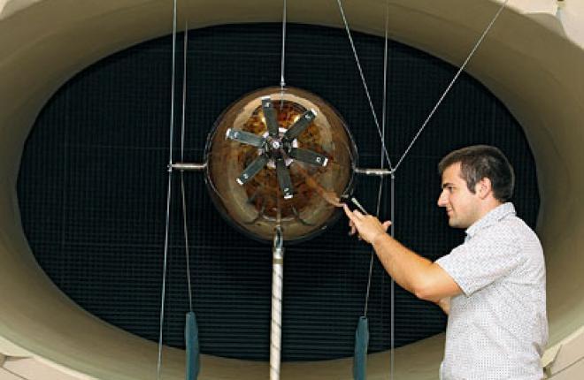 В ЦАГИ испытали модель самолета с толкающим хвостовым винтом