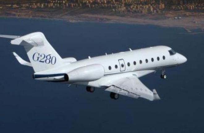 Gulfstream получил сертификат на систему синтетического видения для G280