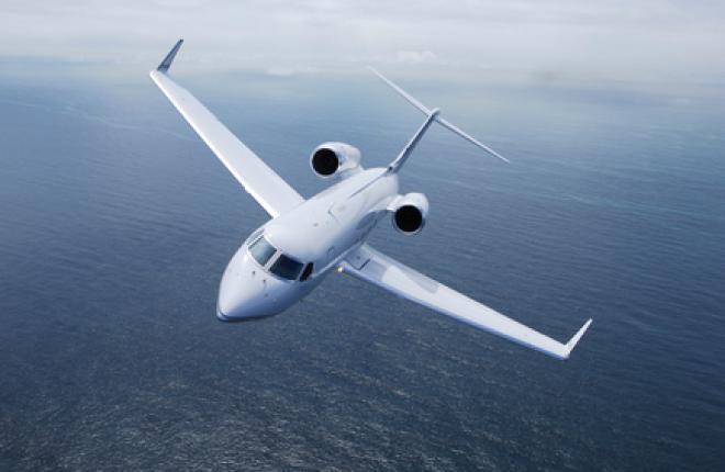 """Новый Gulfstream G450 поступил в авиакомпанию """"Меридиан"""""""
