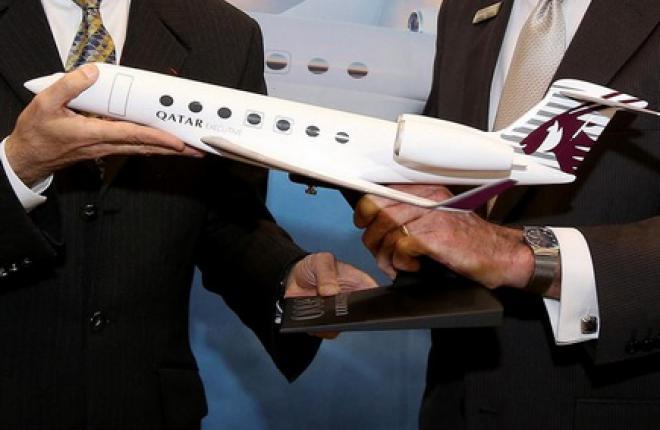 Деловой оператор Qatar Executive заказал 30 бизнес-джетов Gulfstream