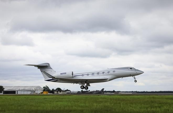 Gulfstream подняла в воздух первый серийный G600