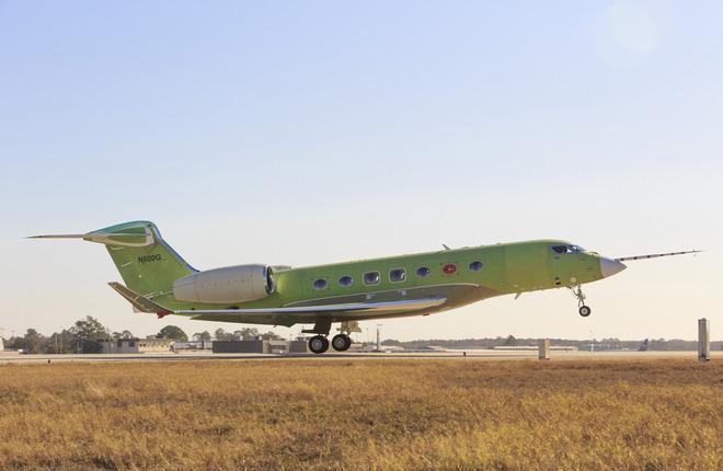 Начались летные испытания бизнес-джета Gulfstream G600