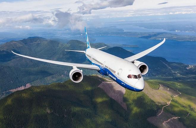 Самолет Boeing 787-10 Dreamliner