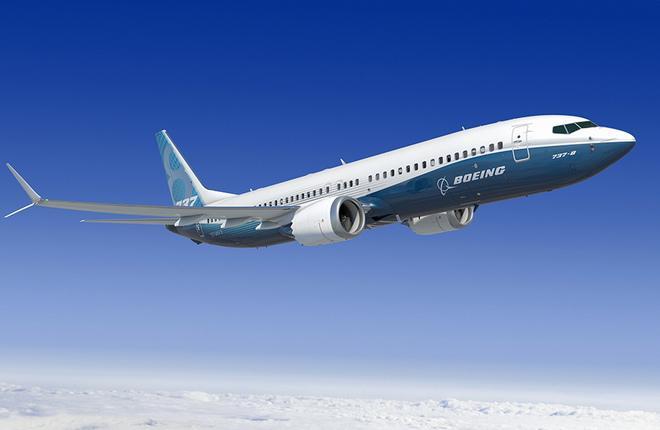 Самолет Boeing 737MAX-8 получил сертификат типа