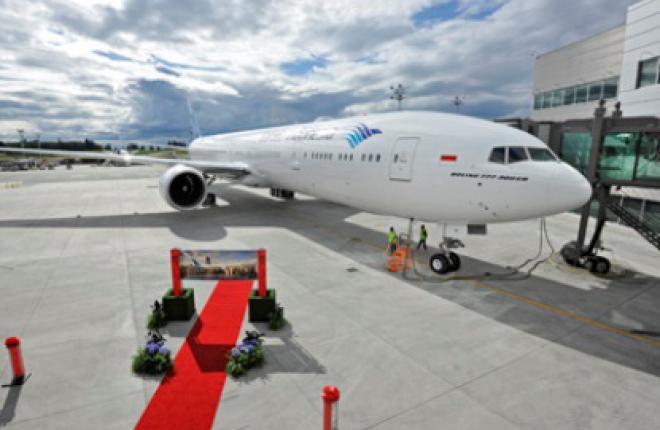 Авиакомпания Garuda Indonesia получила первый Boeing 777-300ER