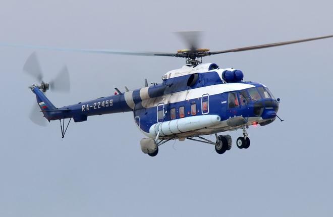 """Вертолет """"Газпром авиа"""""""