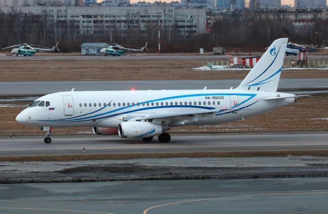 """""""Газпром авиа"""" доработала четыре SSJ 100 в S7 Technics"""