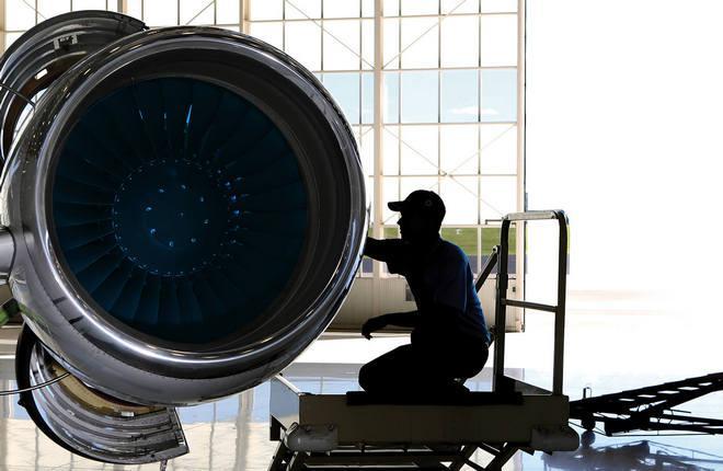 Обслуживание турбовентиляторного двигателя от GE Aviation