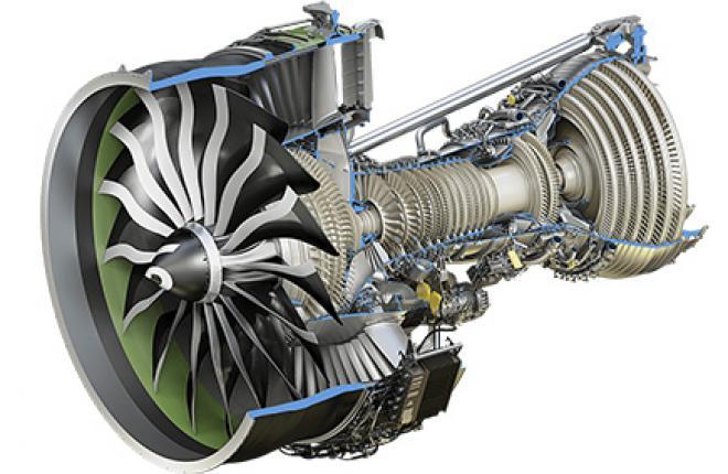 Начались испытания газогенератора двигателя для Boeing 777X