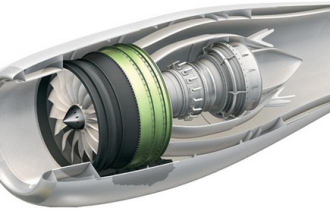 Начались летные испытания нового двигателя GE Passport