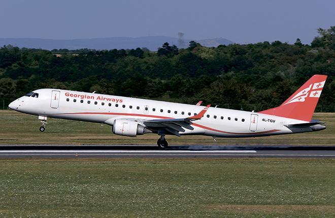 Georgian Airways получила E190, расширила маршрутную сеть и помогла Armenia