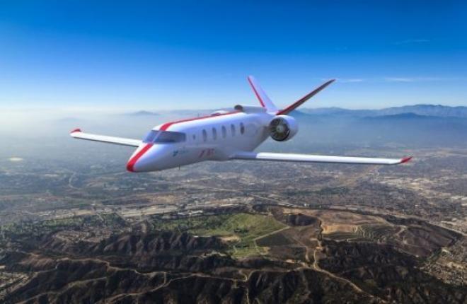 Гибридный самолет Zunum Aero, JetSuite