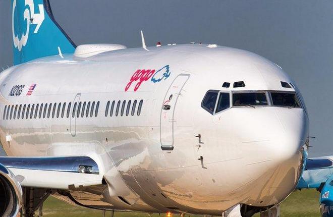 самолет Gogo