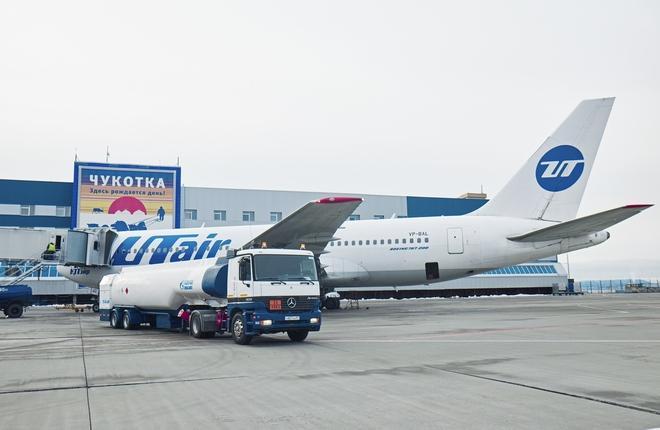 Газпромнефть-Аэро в аэропорту Анадырь