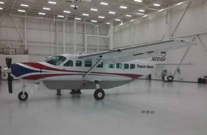 """Авиакомпания """"Томск Авиа"""" получит первый самолет Cessna 208B G"""