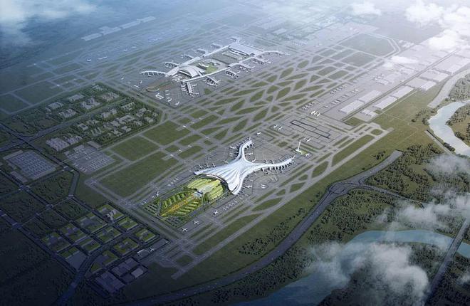Так выглядит будущее Международного аэропора Байюнь: новый терминал Т3 – внизу