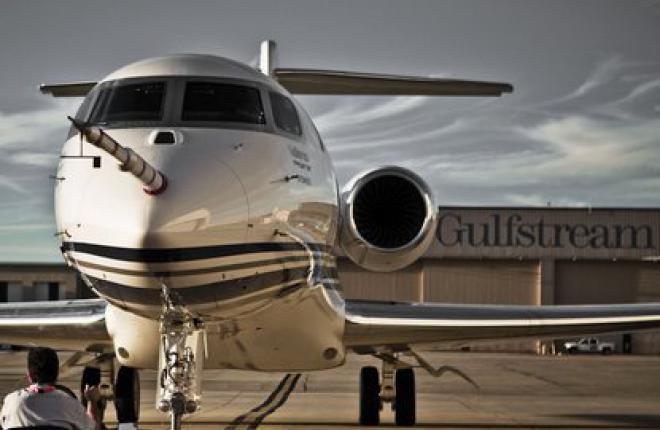 Самолет Gulfstream G650 получил предварительный сертификат типа