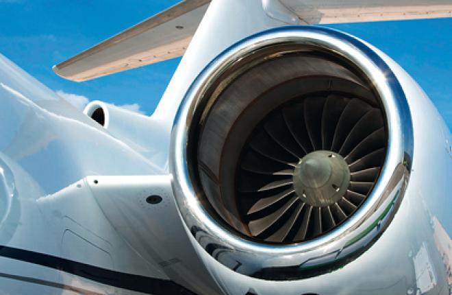 Тест-полет Gulfstream G280