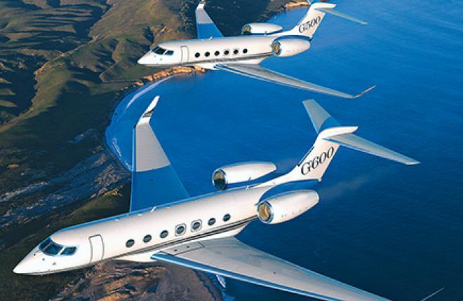 ДВе первые модели gulfstream должны задать новые стандарты в сегменте деловой авиации