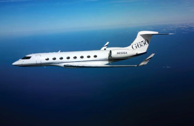 Gulfstream G650 получил сертификат типа FAA