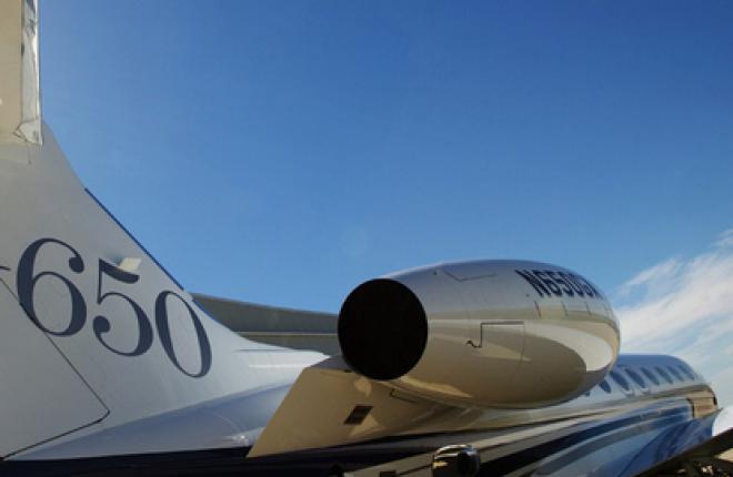 Авиакомпания Airfix Aviation LTD вводит в эксплуатацию Gulfstream G650