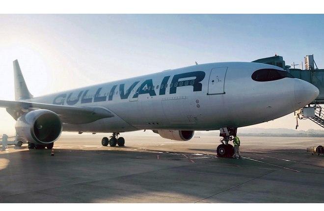 самолет Airbus A330-200 частной болгарской GullivAir
