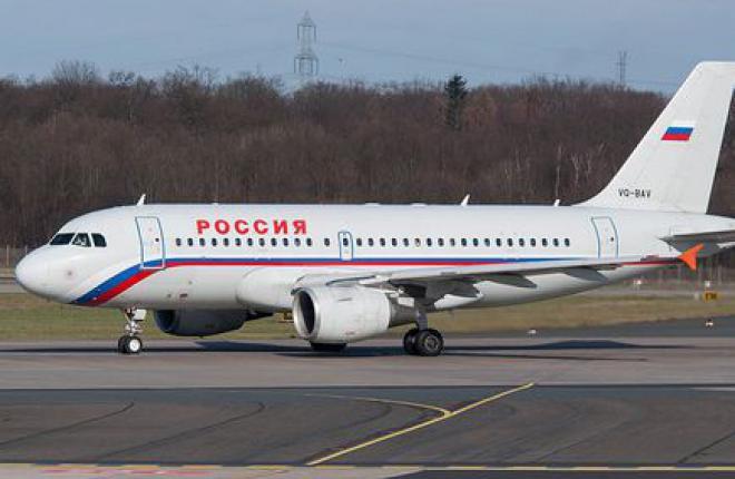 """Авиакомпания """"Россия"""" приступила к самостоятельному выполнению C-Check самолетов А320"""