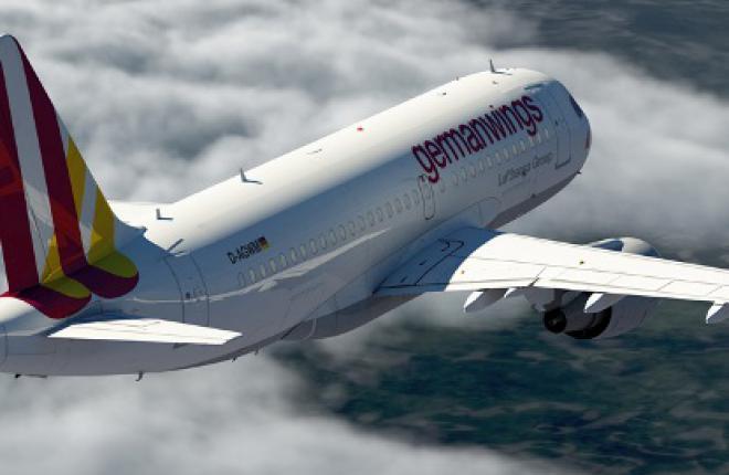 Авиакомпания Germanwings получила первый самолет в новой ливрее