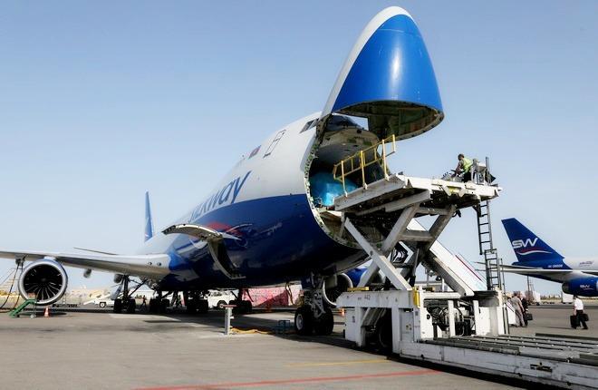 Boeing 747-8F Silk Way West Airlines