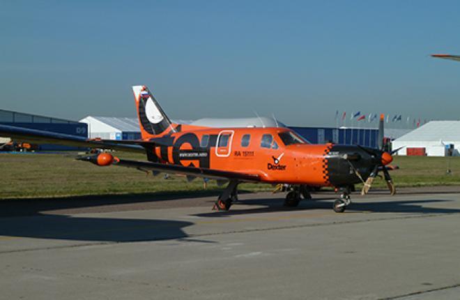 М-101Т «Гжель» сохранил ливрею своего единственного эксплуатанта -- компании Dexter (Сергей Сергеев)