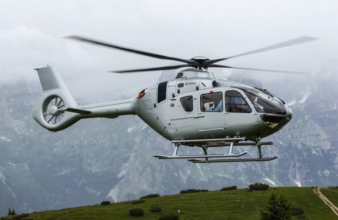 Российский сертификат на комплекс Helionix для вертолета H135 выдадут в 2017 году