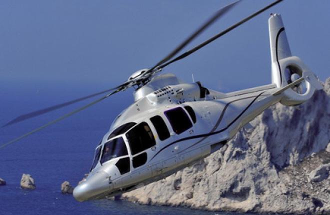 """Авиакомпания """"Газпром авиа"""" купила два вертолета H155"""