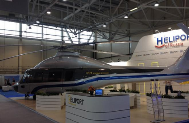 Вертолет H175 получил VIP-салон