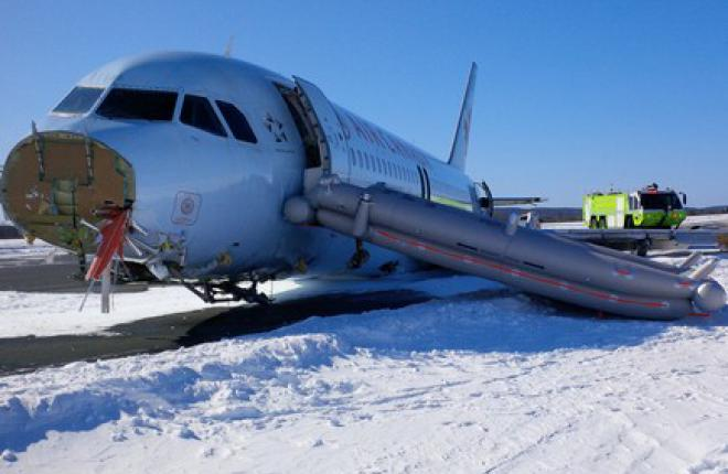 Жесткая посадка A320 Air Canada обошлась без жертв